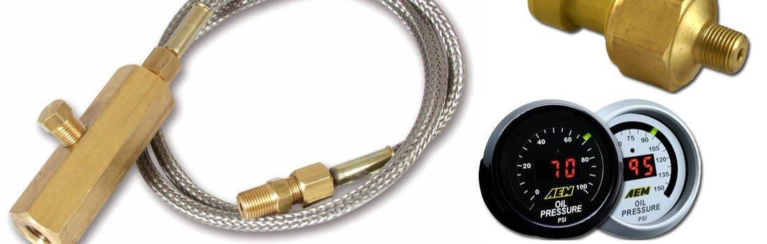 Install the oil pressure sensor on a Lotus Exige