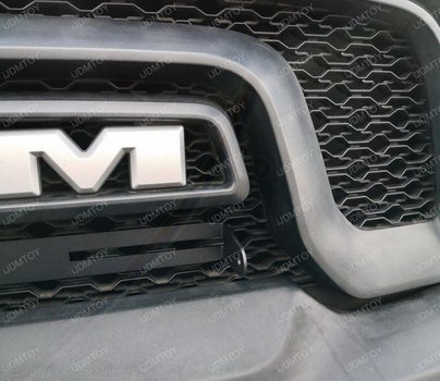 Image 8245 from Install the Grill LED Light Bar on a 2015-18 Ram 1500 Rebel
