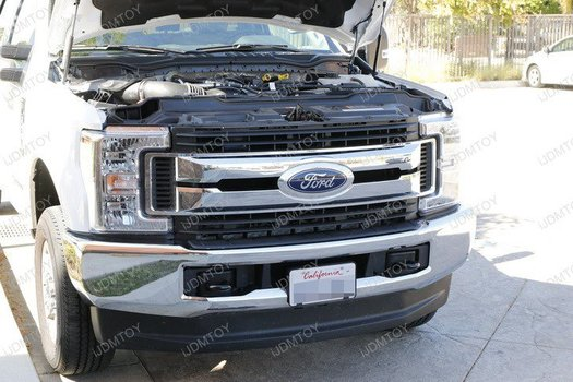 Image 8266 from Install the LED Light Bar on a 17-up Ford F-250 F-350 F-450