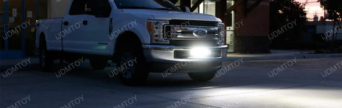 Install the LED Light Bar