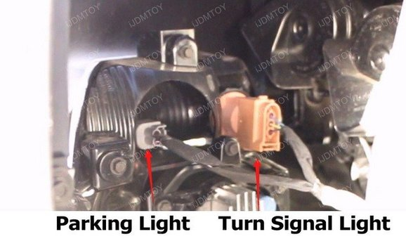 Image 8277 from Install the Switchback LED DRL Assy on a 15-17 Ford Mustang