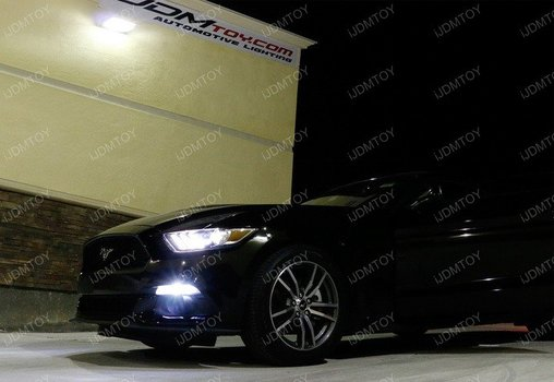 Image 8284 from Install the Switchback LED DRL Assy on a 15-17 Ford Mustang