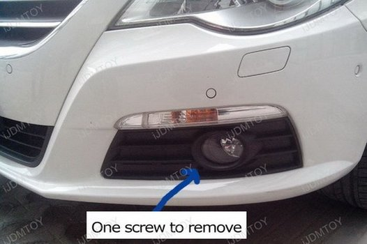 Image 8286 from Install the Switchback LED DRL Assy on a Volkswagen CC
