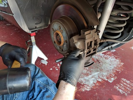 Image 8294 from Replace the Rear Brake Pads on a Chrysler Crossfire