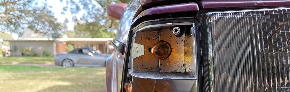 Replace the Blinker or Side Marker Bulbs