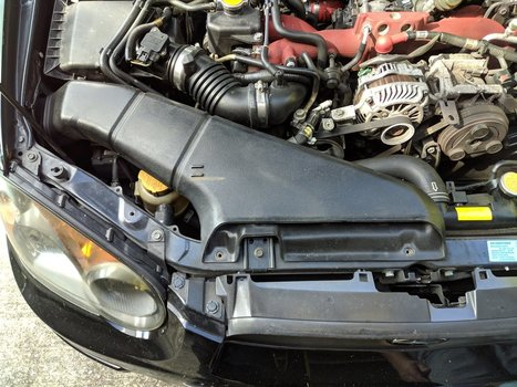 Image 8505 from Change the Power Steering Pump on a 2005 Subaru Impreza WRX STI