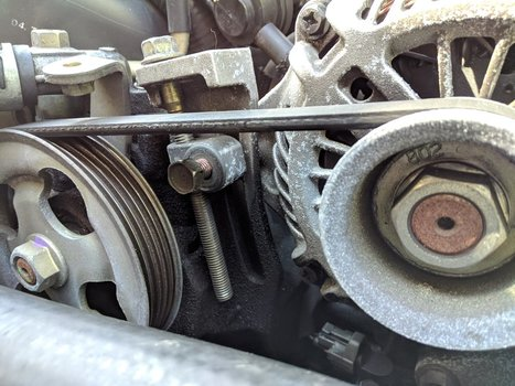 Image 8508 from Change the Power Steering Pump on a 2005 Subaru Impreza WRX STI