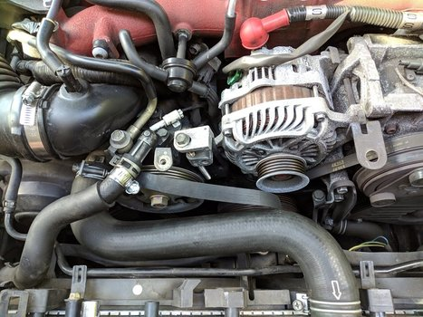 Image 8509 from Change the Power Steering Pump on a 2005 Subaru Impreza WRX STI