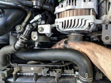 Image 8510 from Change the Power Steering Pump on a 2005 Subaru Impreza WRX STI