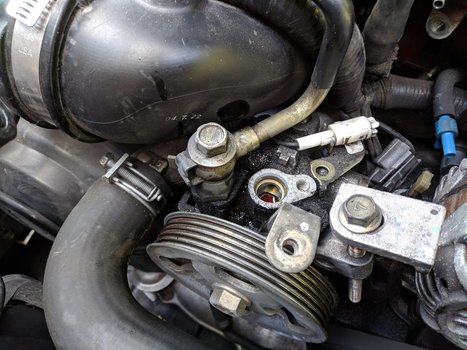 Image 8512 from Change the Power Steering Pump on a 2005 Subaru Impreza WRX STI