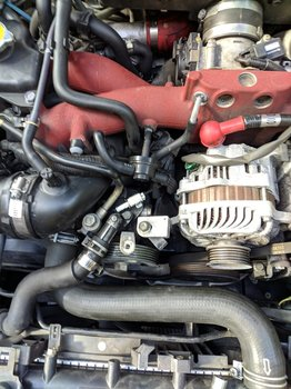 Image 8514 from Change the Power Steering Pump on a 2005 Subaru Impreza WRX STI
