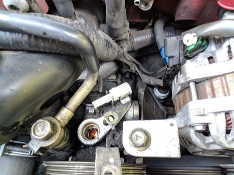 Image 8519 from Change the Power Steering Pump on a 2005 Subaru Impreza WRX STI