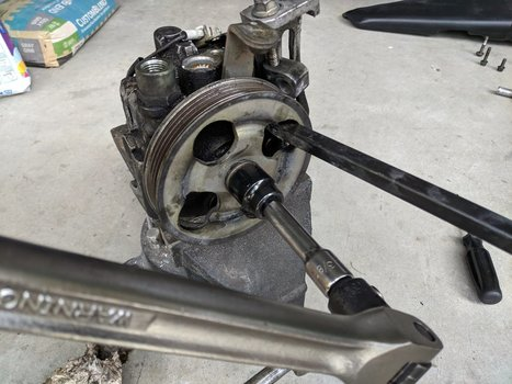 Image 8521 from Change the Power Steering Pump on a 2005 Subaru Impreza WRX STI