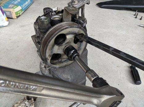 Image 8521 from Change the Power Steering Pump on a 2005 Subaru Impreza WRX STI