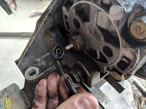 Image 8523 from Change the Power Steering Pump on a 2005 Subaru Impreza WRX STI