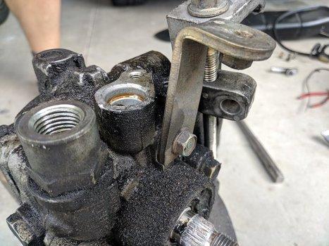 Image 8524 from Change the Power Steering Pump on a 2005 Subaru Impreza WRX STI