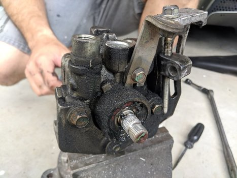 Image 8525 from Change the Power Steering Pump on a 2005 Subaru Impreza WRX STI