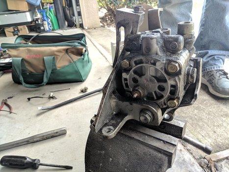 Image 8526 from Change the Power Steering Pump on a 2005 Subaru Impreza WRX STI