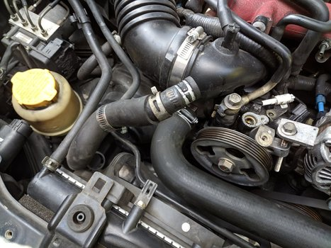 Image 8528 from Change the Power Steering Pump on a 2005 Subaru Impreza WRX STI