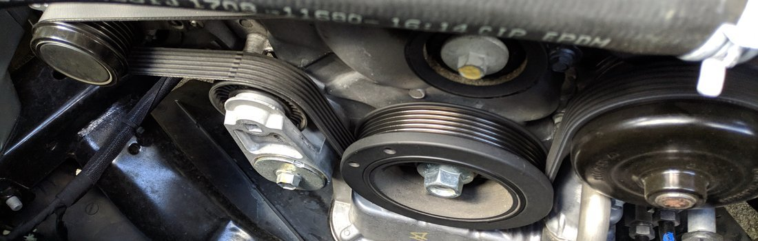 Replace The Serpentine Belt On A 2011 Dodge Charger V6