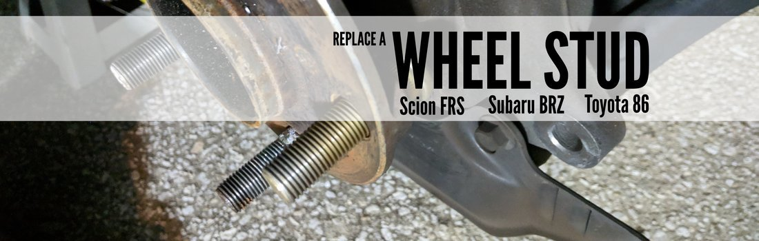 Replace the Wheel Studs