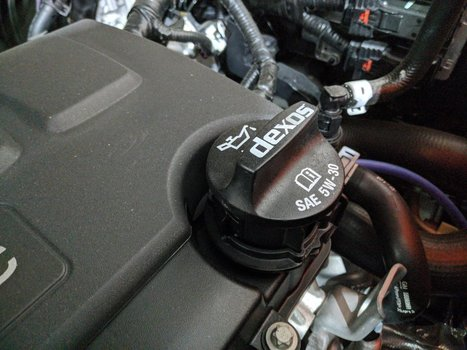Image 8651 from Change the Oil on a 2019 Chevrolet Trax
