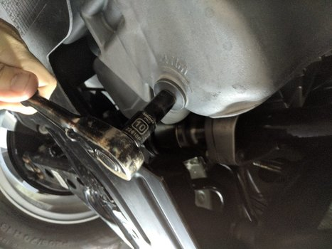 Image 8645 from Change the Oil on a 2019 Chevrolet Trax