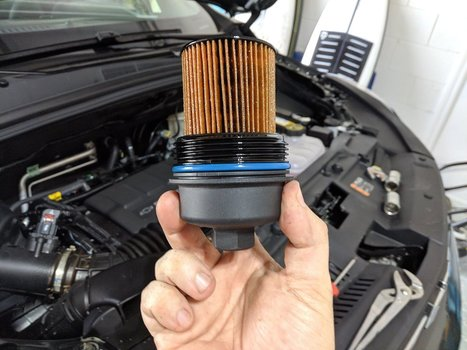 Image 8648 from Change the Oil on a 2019 Chevrolet Trax