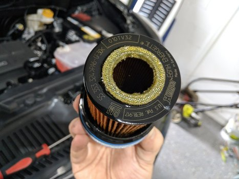 Image 8650 from Change the Oil on a 2019 Chevrolet Trax