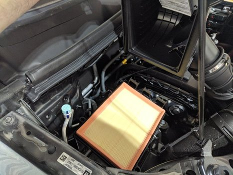 Image 8680 from Change the Engine Air Filter on a 2019 Chevrolet Trax