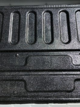 Image 8729 from Applying the Raptor Roll-on Bed liner on a 2018 Toyota Tundra