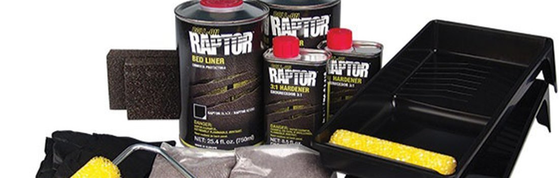 Applying the Raptor Roll-on Bed liner