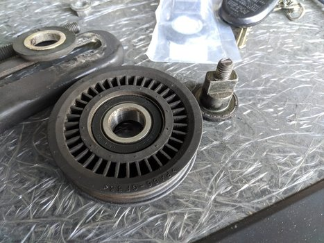 Image 8741 from Replace the Noisy AC Idler Pulley on a 2005 Impreza WRX STI