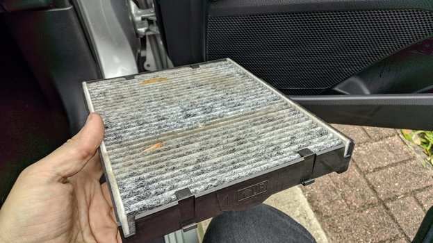 Image 8823 from Change the Cabin Air Filter on a 2017-up Toyota Camry