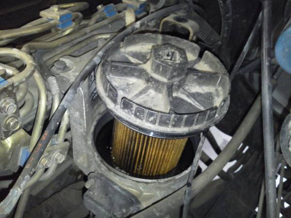 replacing the fuel filter on a dodge ram