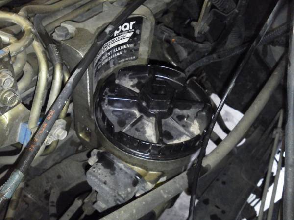 Image 751 from Replacing the Fuel Filter on a Dodge Ram
