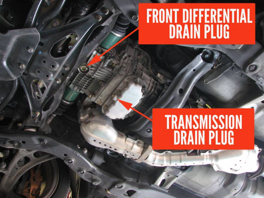 transmission drain plug location  transmission  free