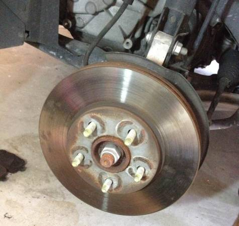 Image 1122 from Change the Front Brake Rotor on a Chevrolet HHR