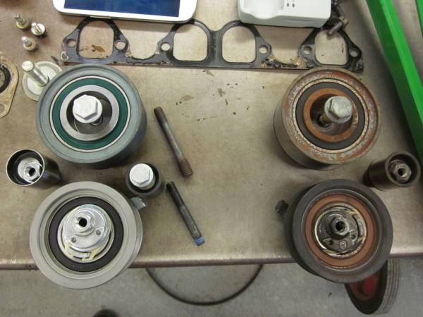 Image 1608 from Replacing the Timing Belt on a Volkswagen Jetta TDI MKIV