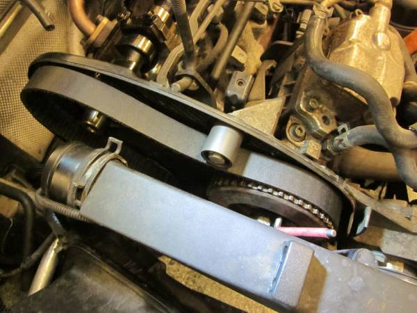 Image 1620 from Replacing the Timing Belt on a Volkswagen Jetta TDI MKIV