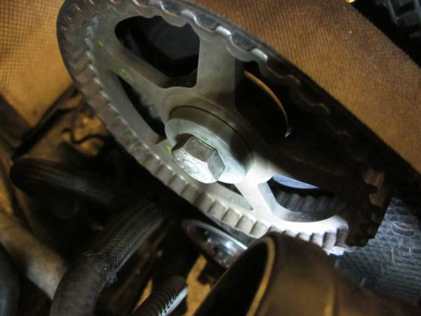 Image 1623 from Replacing the Timing Belt on a Volkswagen Jetta TDI MKIV